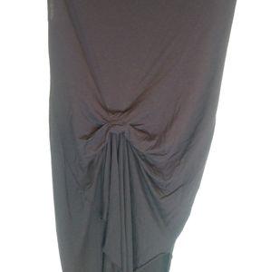 All Saints Tavi Riviera Asymmetrical Dress